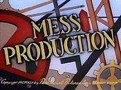 Mess Production Picture Of Cartoon