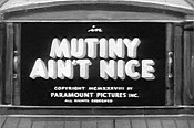 Mutiny Ain't Nice Cartoon Picture