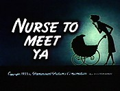 Nurse To Meet Ya Cartoon Character Picture