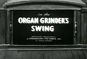 Organ Grinder's Swing Cartoon Picture