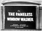 The Paneless Window Washer Cartoon Picture