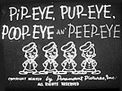 Pip-Eye, Pup-Eye, Poop-Eye An' Peep-Eye Picture To Cartoon