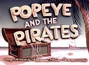 Popeye And The Pirates Picture To Cartoon