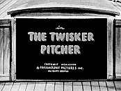 The Twisker Pitcher Cartoon Picture