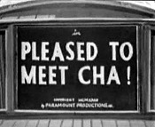 Pleased To Meet Cha!
