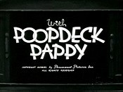 With Poopdeck Pappy Picture Of The Cartoon