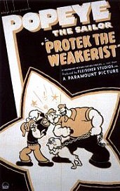 Protek The Weakerist Cartoon Picture