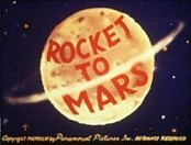 Rocket To Mars Picture Of Cartoon
