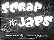 Scrap The Japs Cartoon Picture