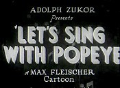 Let's Sing With Popeye Cartoon Picture