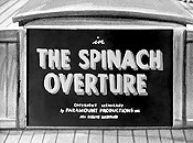 The Spinach Overture Picture To Cartoon