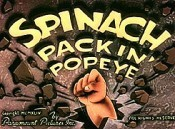 Spinach Packin' Popeye Picture Of Cartoon