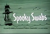 Spooky Swabs Free Cartoon Picture