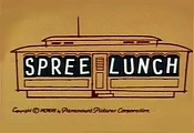 Spree Lunch Free Cartoon Picture
