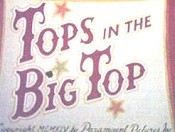 Tops In The Big Top Picture Of Cartoon