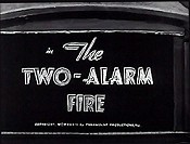 The Two-Alarm Fire Cartoon Picture