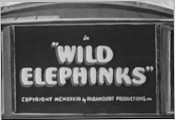 Wild Elephinks Free Cartoon Picture