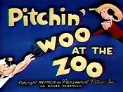 Pitchin' Woo At The Zoo Cartoon Picture