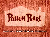 Possum Pearl Cartoon Picture
