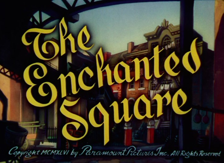 The Enchanted Square Cartoon Character Picture