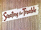 Scouting For Trouble Cartoon Picture