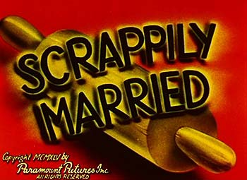 Scrappily Married Cartoon Character Picture