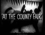 At The County Fair Cartoon Picture