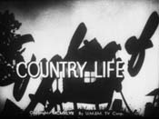 Country Life Free Cartoon Picture