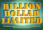 Billion Dollar Limited Cartoon Picture