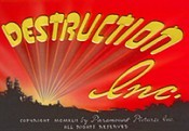 Destruction, Inc. The Cartoon Pictures