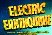 Electric Earthquake Cartoon Picture
