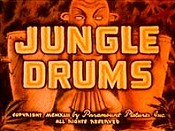 Jungle Drums Cartoon Picture
