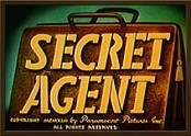 Secret Agent Cartoon Picture