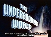 The Underground World Cartoon Picture