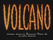 Volcano Picture Into Cartoon