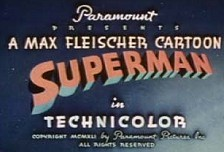 Superman Theatrical Cartoon Series Logo