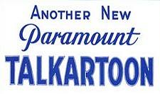 Talkartoons Theatrical Cartoon Series Logo
