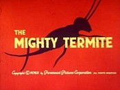 The Mighty Termite Pictures To Cartoon
