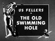 At The 'Ol' Swimmin' Hole Cartoon Picture