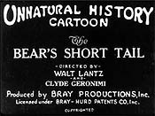 How The Bear Got His Short Tail Cartoon Picture