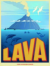 Lava Cartoon Picture