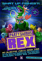 Partysaurus Rex Cartoon Picture
