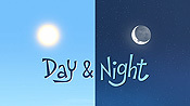 Day & Night Pictures In Cartoon