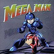 Mega Man In The Moon Cartoon Picture