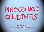 Pinocchio's Christmas Cartoon Picture