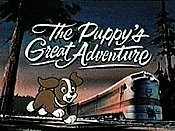The Puppy's Great Adventure Cartoon Character Picture