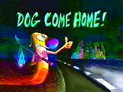 Dog Come Home! Cartoon Picture