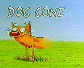 Dog Gone Cartoon Picture