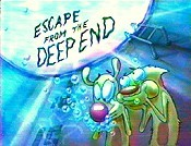 Escape From The Deep End Cartoon Picture