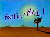 Fistful Of Mail! Picture Of Cartoon